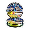 Шнур L&K X3 Micro Braid Teflon Coated Fluo Yellow 150 м/0.08, 0.1, 0.12, 0.14, 0.16, 0.18