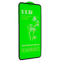Скло 11D для iPhone Xs Max , black