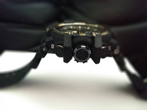 Спортивные наручные часы Casio G-Shock GWA-1100 Black-Gold Касио, фото 3