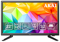 Телевизор Akai UA22LED1T2S ( Smart TV, Android, FullHd 1920*1080, T2)