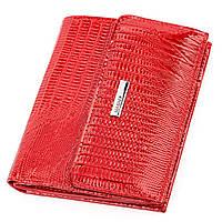 Кошелек женский KARYA 17143 кожаный Красный, Красный, фото 1