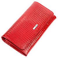 Кошелек женский KARYA 17153 кожаный Красный, Красный, фото 1