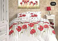 Комплект постельного бельяRanforce Bozka KirmiziFirst Choice Евро размер
