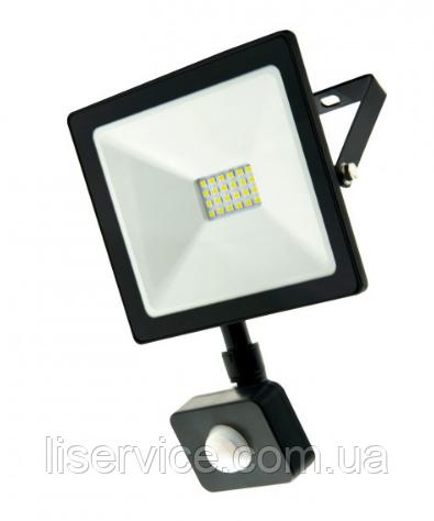 LED прожектор c датчиком движения VARGO 50W 220V 6500K (V-330350)