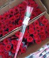 Розы из мыла  , подарок на 14 февраля