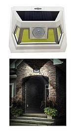 LED настенный светильник на солнечной батарее VARGO 8W COB бел. (VS-701329)