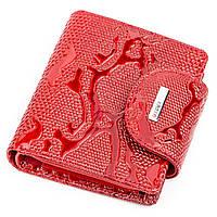 Кошелек женский KARYA 17166 кожаный Красный, Красный, фото 1