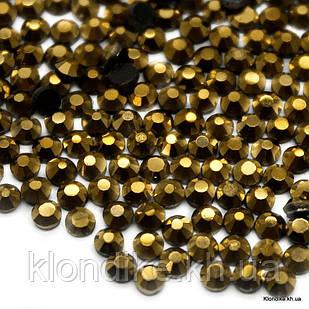 Стразы горячей фиксации DMC, ss10(2.8 мм), Стекло, Цвет: Золото (1440 шт.)