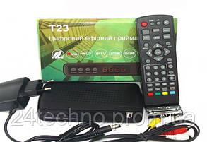 Тюнер Т2 T23 IPTV+YouTube, фото 3