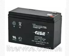 Аккумулятор свинцово-кислотный Casil CA1270 (12 V; 7 Ah), фото 2