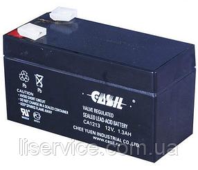 Аккумулятор свинцово-кислотный Casil CA1213 (12 V; 1,3 Ah)