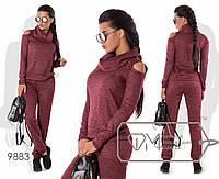 Стильний жіночий прогулянковий ангоровый костюм-двійка в спортивному стилі р. 42-44. Арт-2810/23