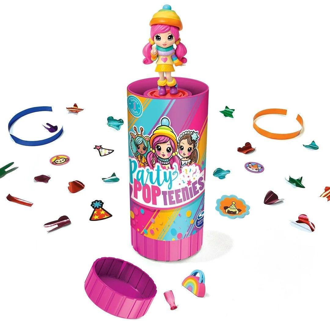 Кукла LOL PARTY POP в капсуле модель HT211 2 штуки в комплекте