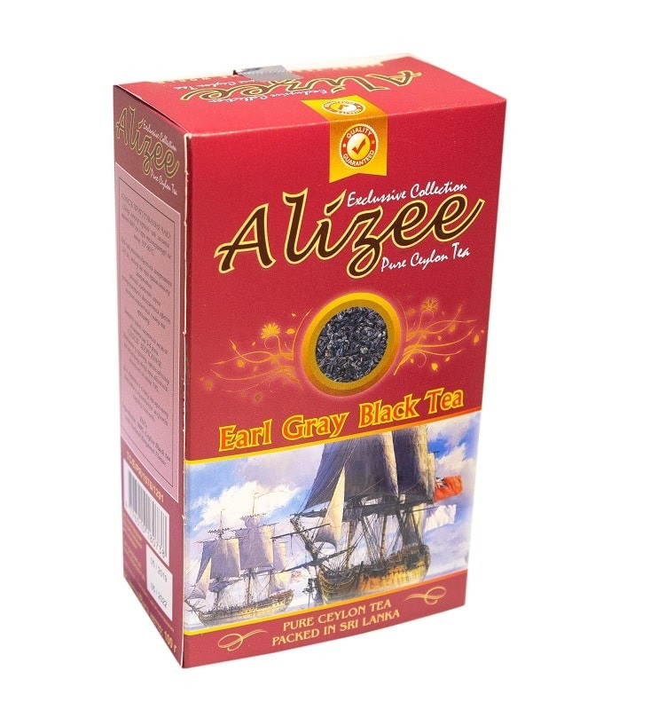 Черный чай с бергамотом Ализе Эрл Грей 100 грамм
