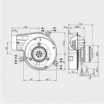 Дымосос MPLUSM G2E 150-DN91-01, фото 3