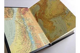 Біблія українською мовою великого формату (чорна, з рамкою), фото 2