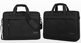 Сумка рюкзак чехол кейс для ноутбука LMD Classic 15.6'' дюймов через плечо 3 цвета черный