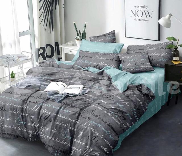 картинка двуспальный комплект постельного белья сатин