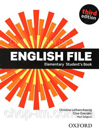 English File Third Edition Elementary Student's Book / Учебник