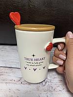 Чашка Закохане серце 350 мл MUG-250/ 1