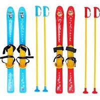 Детские лыжи с палками ТМ Технок арт. 3350