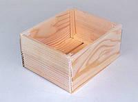 Ящик для хранения из дерева 14,5*18*9 см