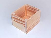 Ящик для хранения из дерева 12*10*8 см