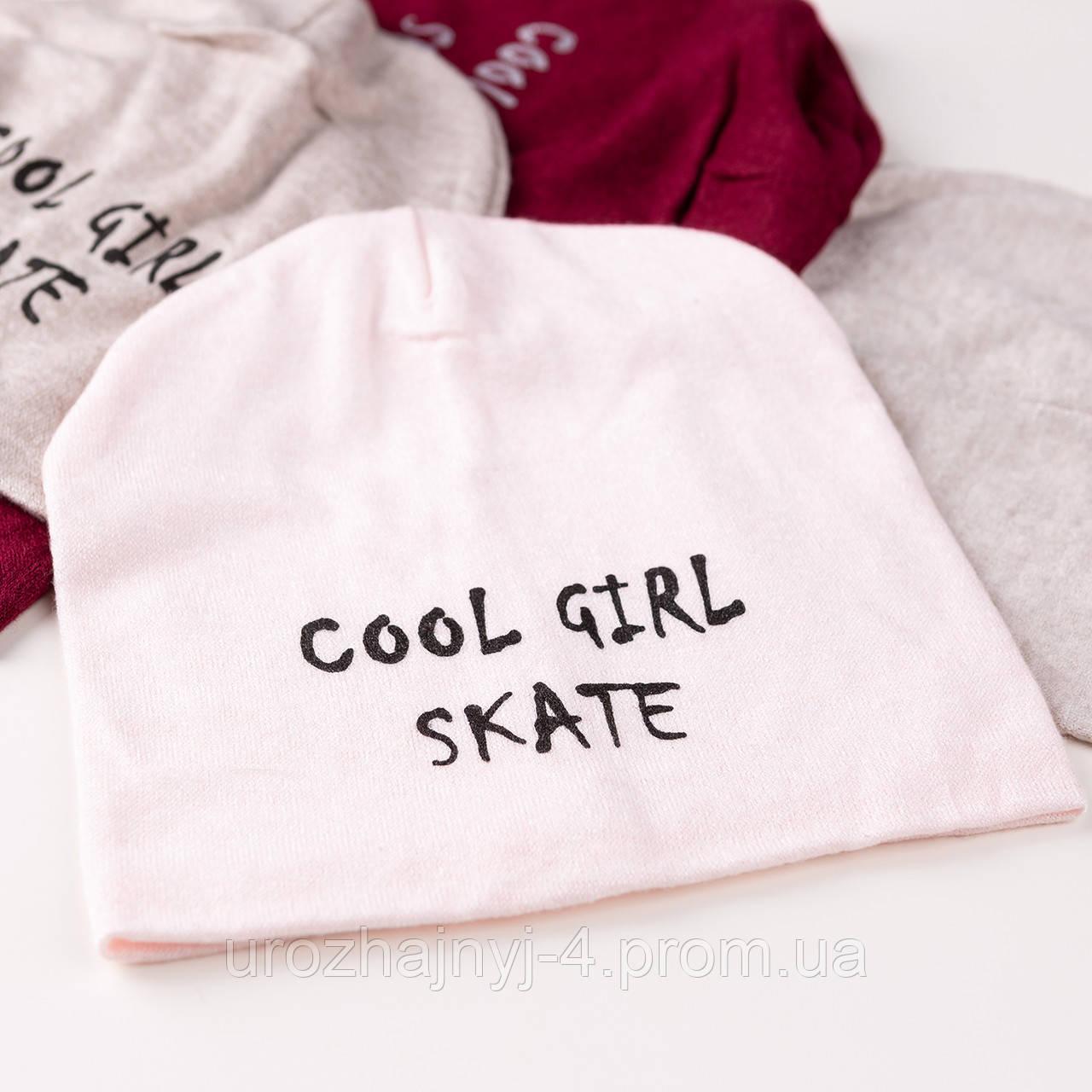 Трикотажная шапка подкладка х/б р50-52 5шт упаковка