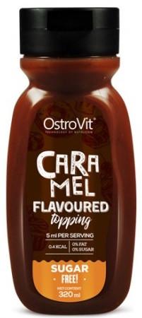 Соус-ароматизатор OstroVit - Flavoured Topping (320 мл) карамель