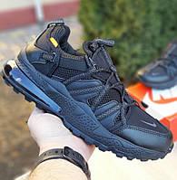 Мужские кроссовки Nike Air Max 270 Bowfin чёрные 41-46р. Живое фото. Топ реплика, фото 1