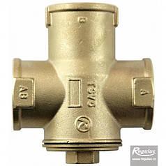 """Трехходовой термосмесительный клапан REGULUS TSV5B DN32 5/4"""" 55°С"""