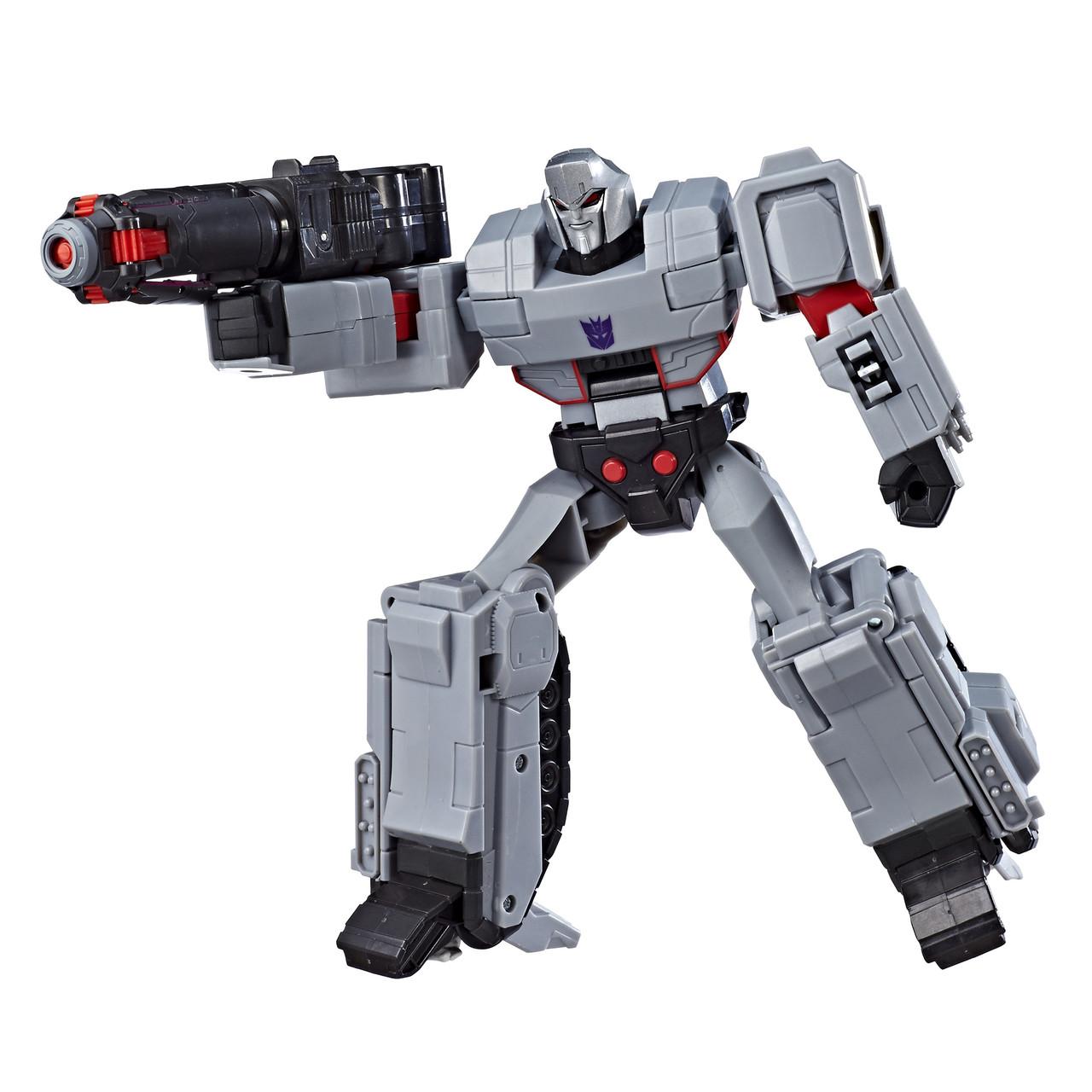 Робот-трансформер Мегатрон, Hasbro, Кибервселенная 28 см - Megatron, Mega Shoot, Cyberverse, Ultimate Class