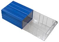 Выдвижной модульный ящик 512 (260*340*Н150мм) 2 ячейки, фото 1