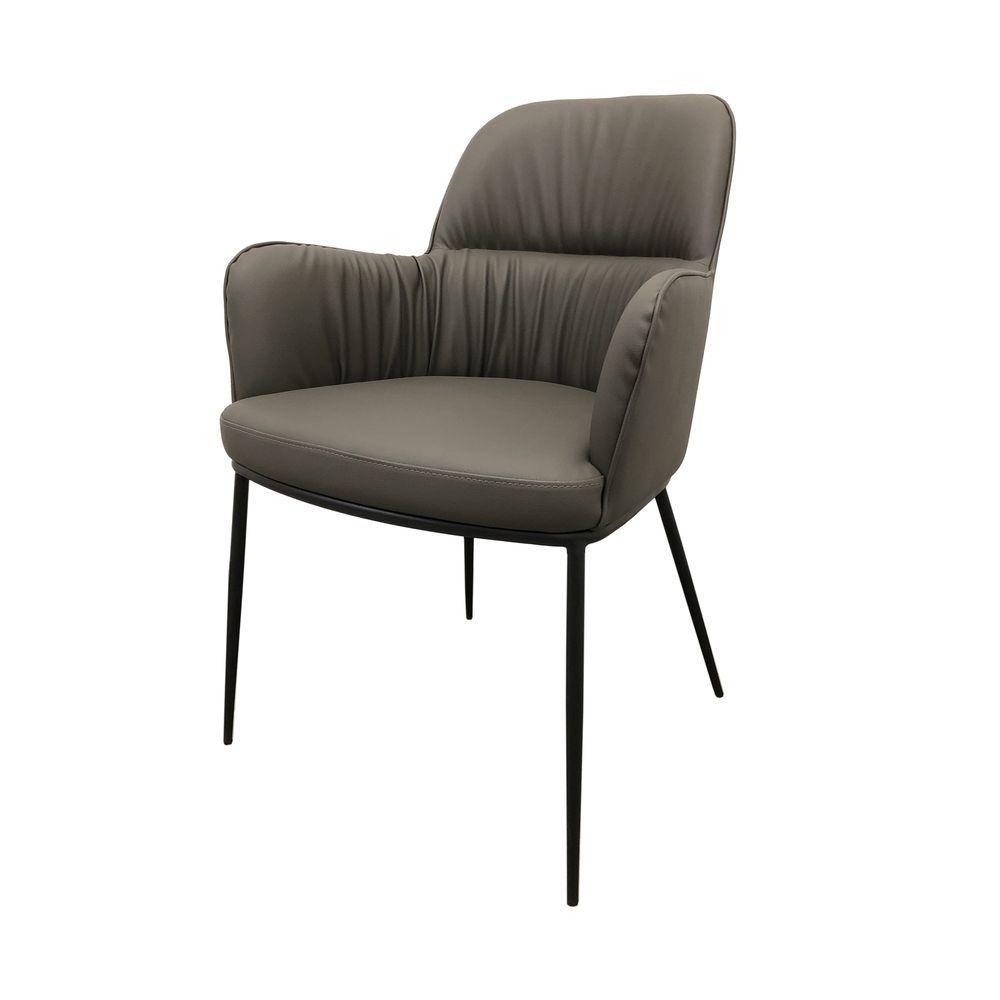 Кресло SHELDON (Шелдон) серый графит