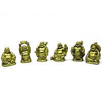 Хотей каменная крошка набор (6шт) желтый (h-5 см упаковка25,5х7,5х3 см)