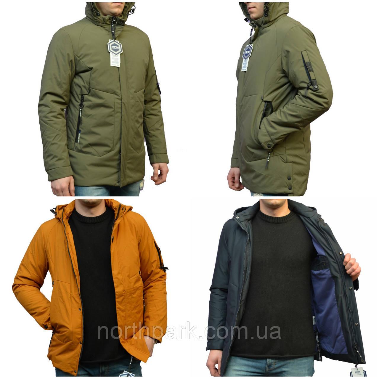 Чоловіча демісезонна куртка подовжена