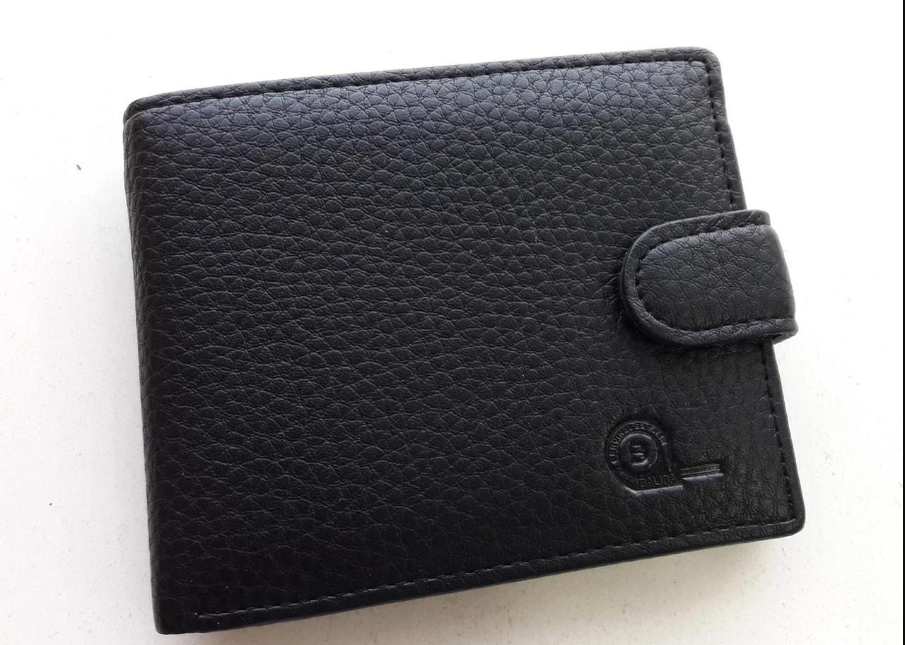 Мужское портмоне с искусственной кожи Balisa W56-208В черный Купить портмоне оптом недорого Одесса 7 км