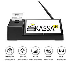 ✅ Комплекс для автоматизации торговли (магазины, бутики, островки) программа Kassa24 + POS терминал + сканер