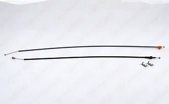 Тросики переключения печки (2 шт) на Renault Trafic II 2001->2014 - Nissan (Оригинал) - 27542-00QAE