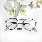 Имиджевые очки в черной оправе, фото 3