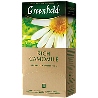 "Чай в пакетиках Greenfield ""Rich Camomile"" 25шт Ромашка крупная"