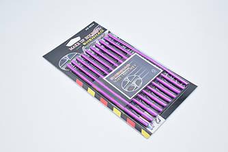 """Молдинг для решетки воздуховода """"MAKE UP HOLDER II AD-0834"""" / 10шт / 3D Фиолетовый"""
