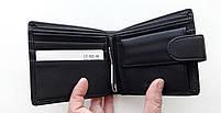 Мужское портмоне с искусственной кожи Balisa LY-005 -66 черный Купить портмоне оптом недорого Одесса 7 км, фото 2