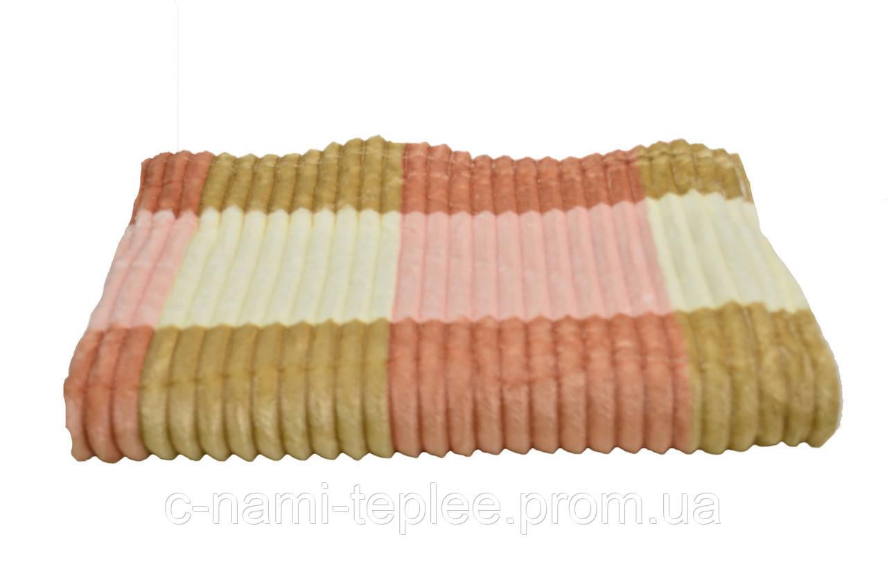 Плед микрофибра радуга 210х230 см