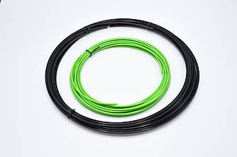 Молдинг усиленный на литые диски MEI LUN BAO/ сменный элемент декора / Зеленый / 8,15м