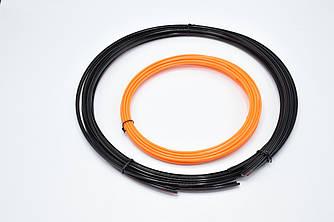 Молдинг усиленный на литые диски MEI LUN BAO/ сменный элемент декора / Оранжевый / 8,15м