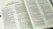 Библия семейная настольная (коричневая, в коробке, кожзам, золото, индексы, без замка, 25х32), фото 3