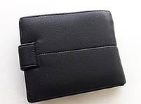 Мужское портмоне с искусственной кожи Balisa LY-004-66 черный Купить портмоне оптом недорого Одесса 7 км, фото 4