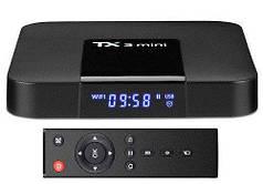 Медиаплеер смарт-приставка Android Smart TV Box Amlogic S905W 2GB(RAM) 16GB(ROM) Tanix TX3 Mini A