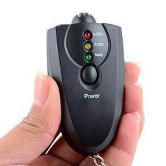 Алкотестер карманный профессиональный цифровой с экраном алкометр с LED индикаторами HLV 6360